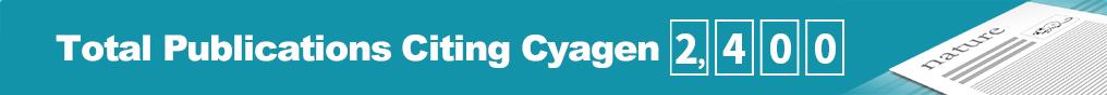 total publications citing cyagen 2,400