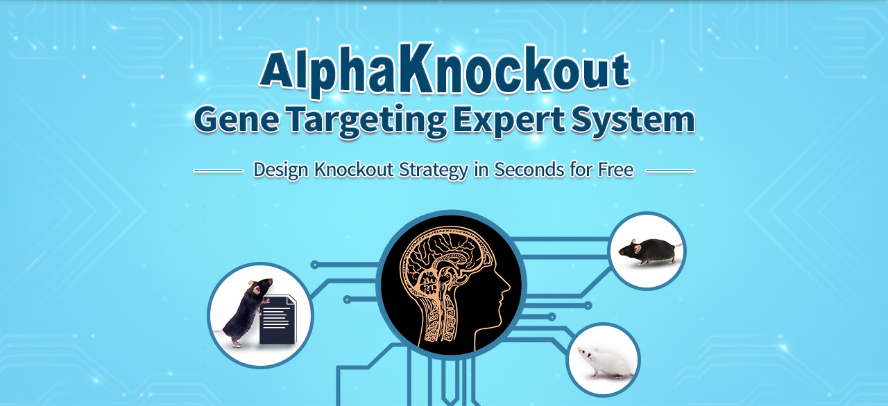 AlphaKnockout Gene Targeting Expert System